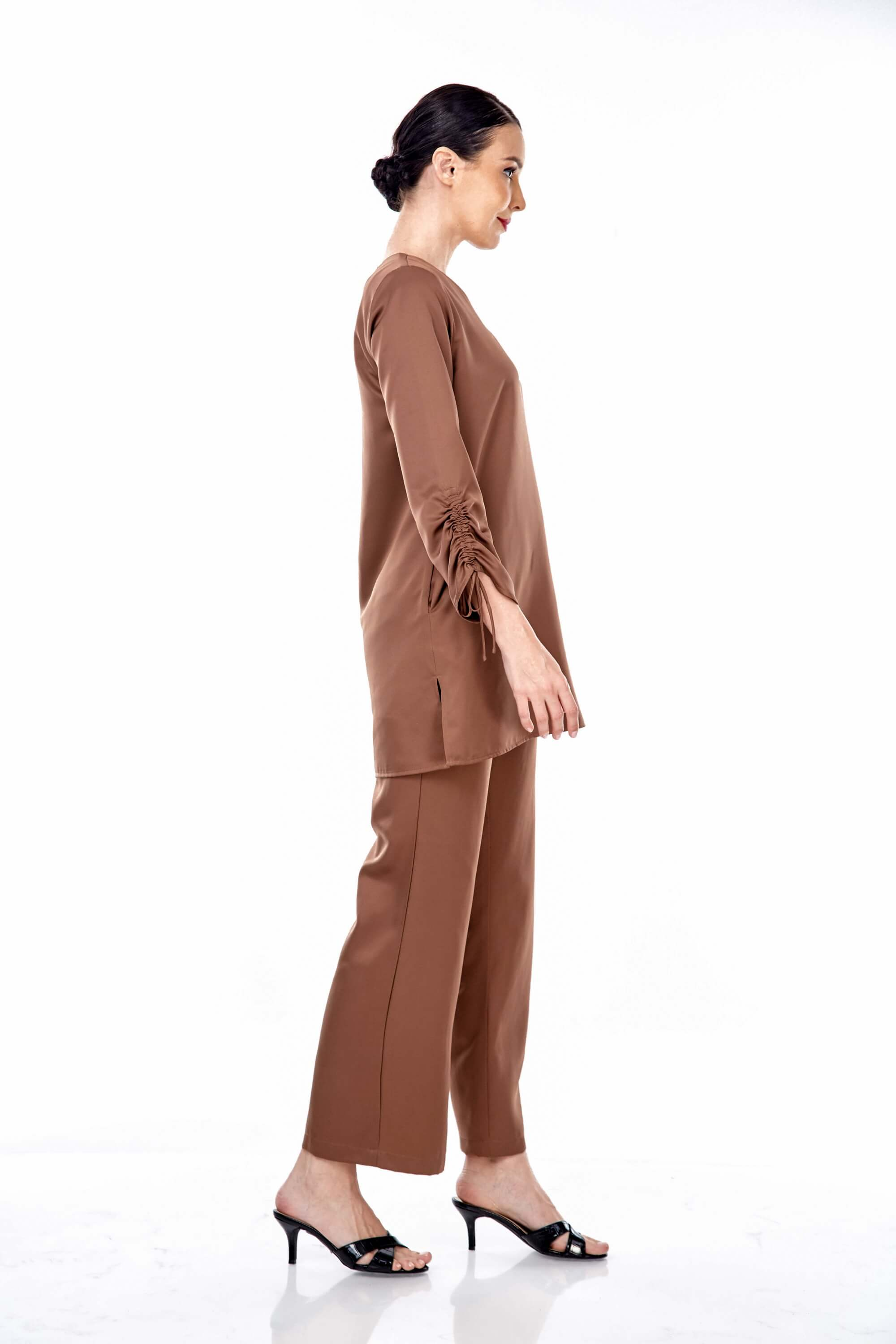 Rayqa Brown Blouse 5
