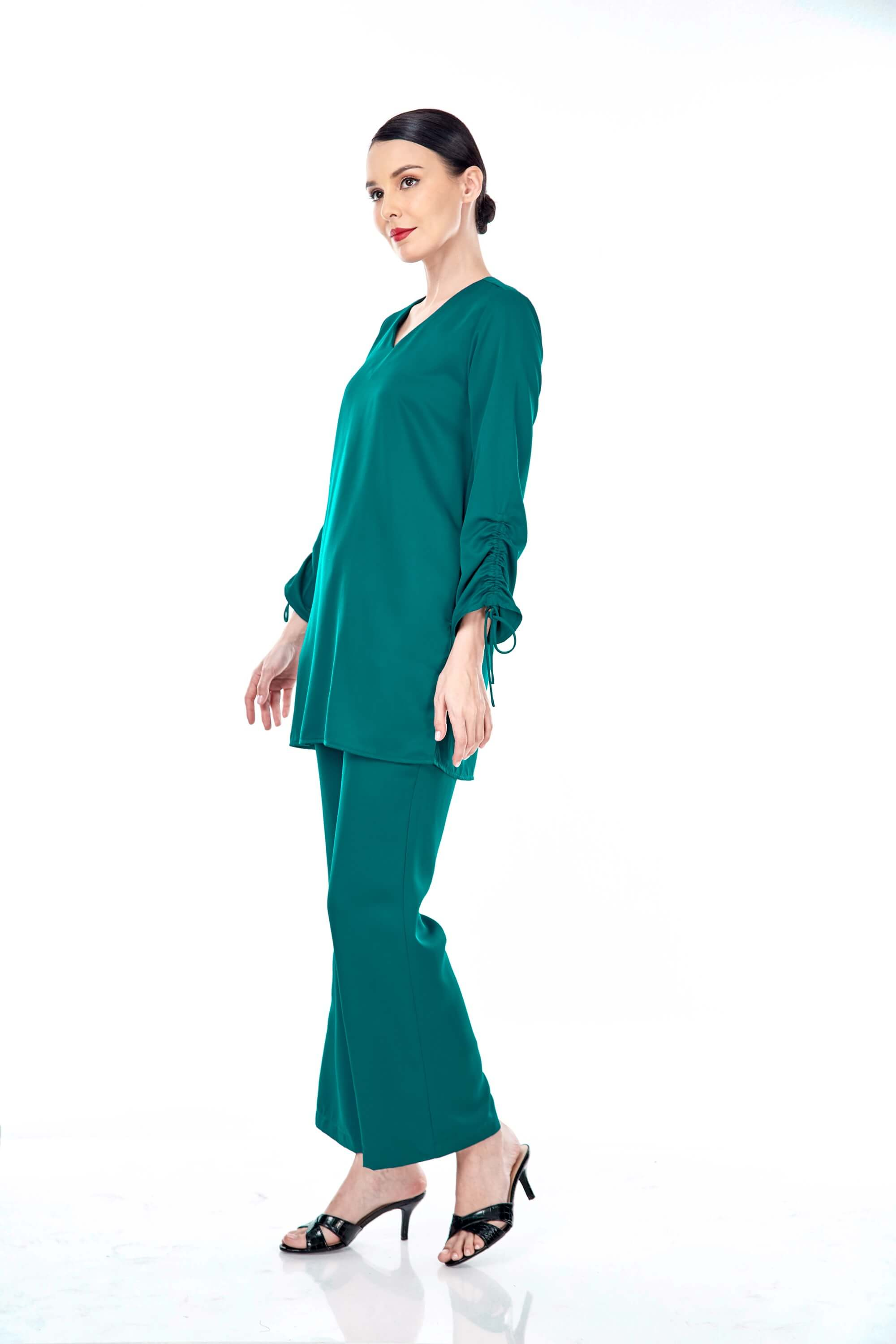 Rayqa Teal Blouse 1