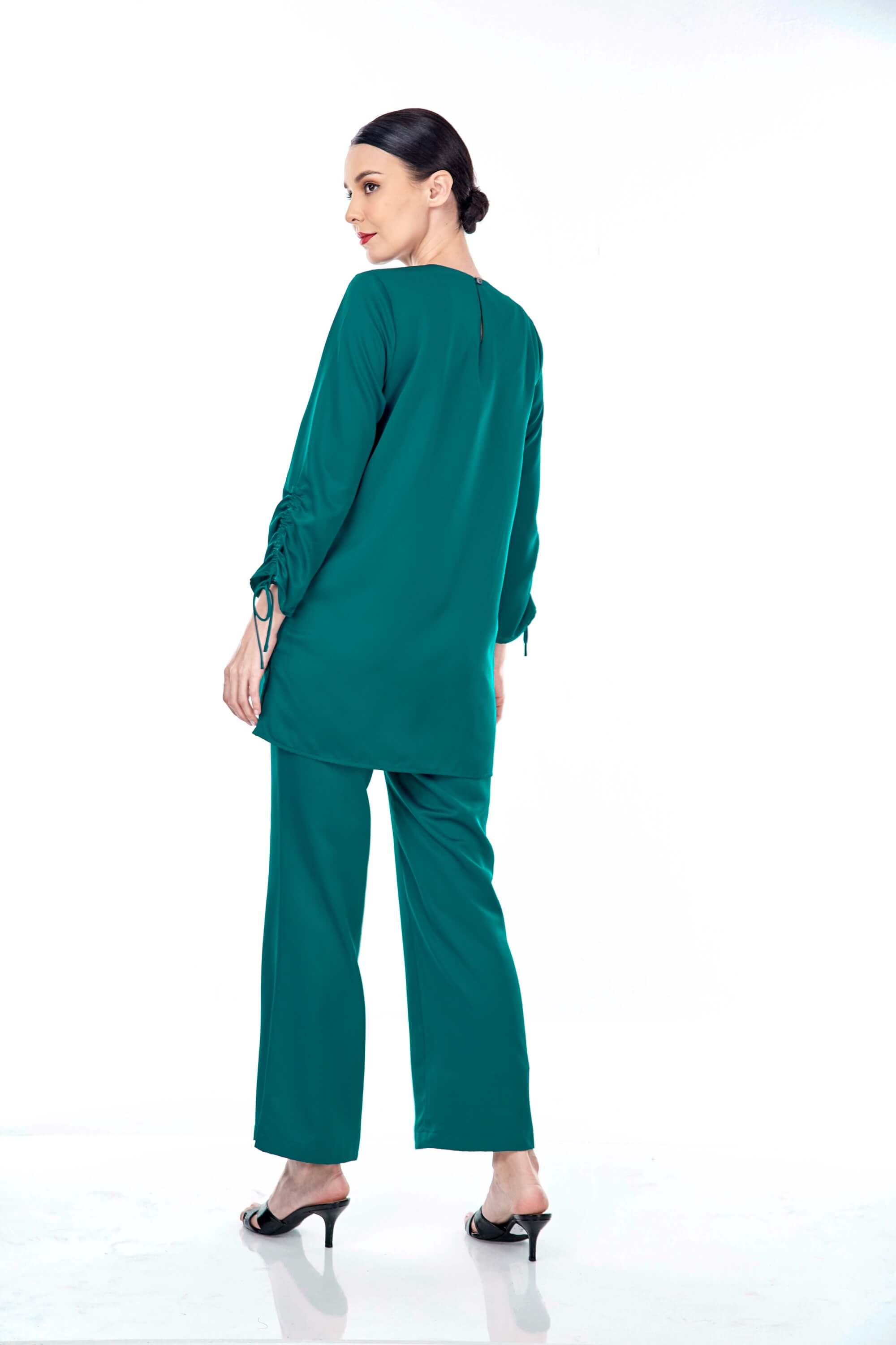 Rayqa Teal Blouse 2