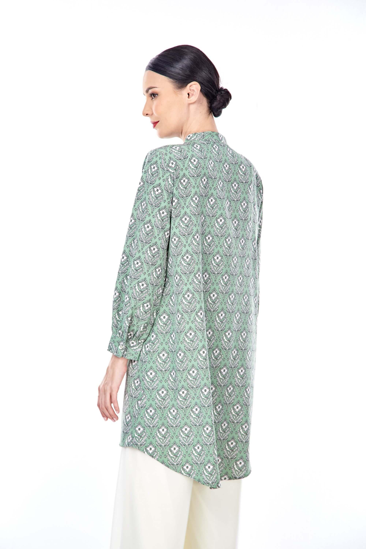 Sonia Fern Green Printed Tunic (3)
