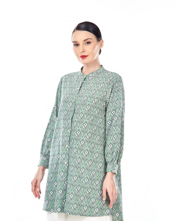 Sonia Fern Green Printed Tunic