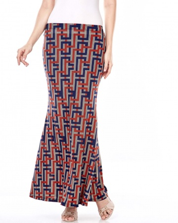 Tilla Graphic Printed Skirt