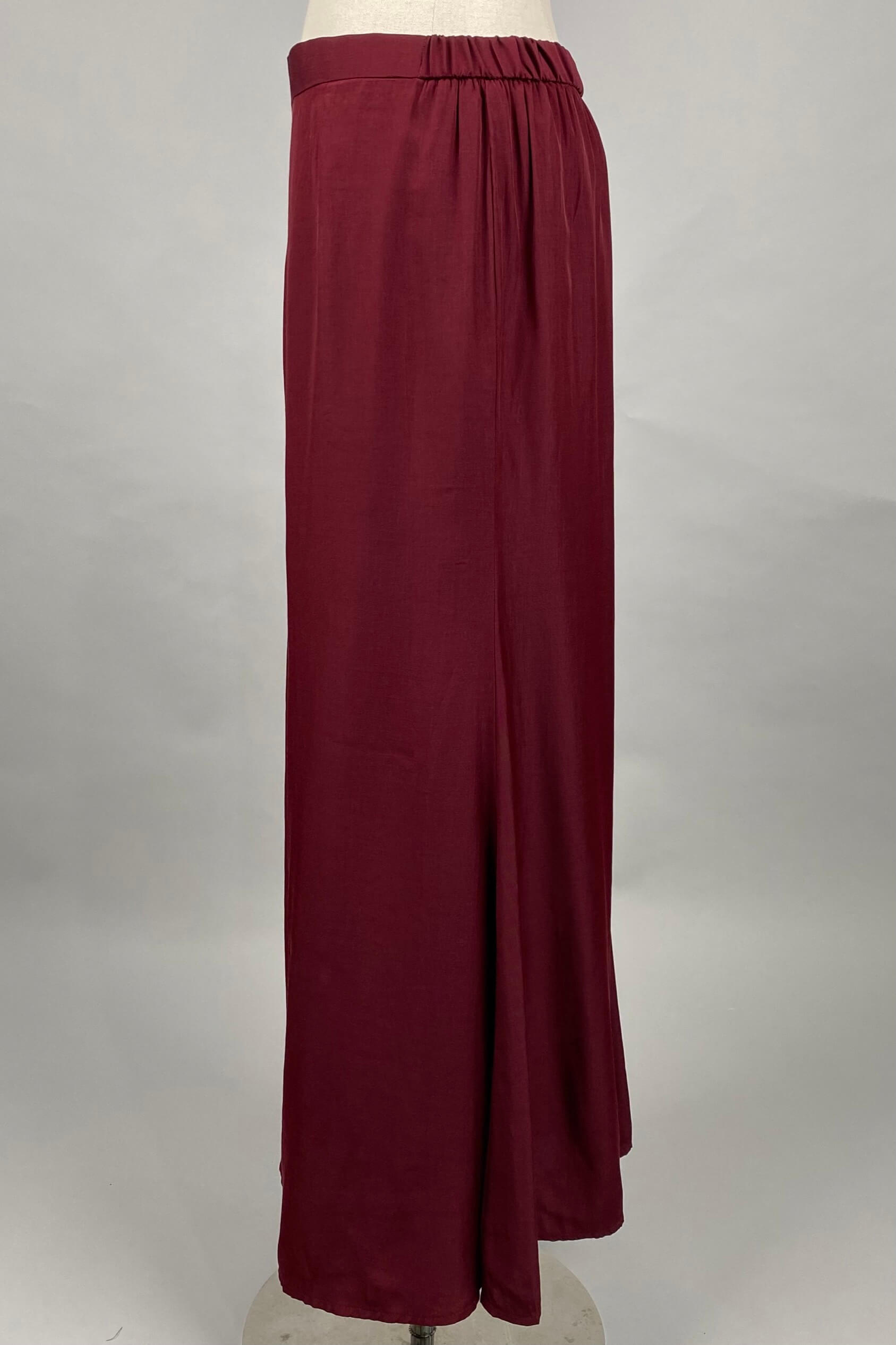 Dark Maroon Skirt 3