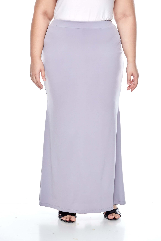 Grey Long Skirt 1