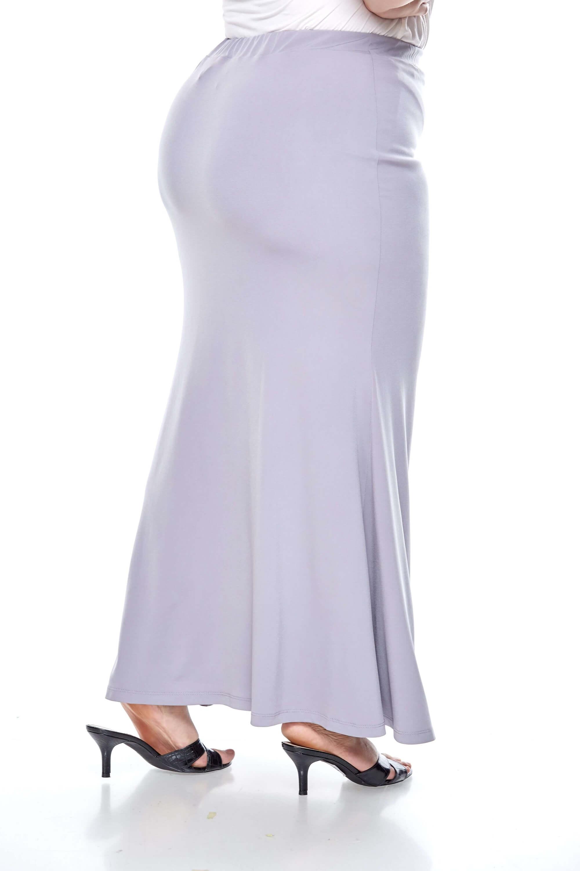 Grey Long Skirt 2