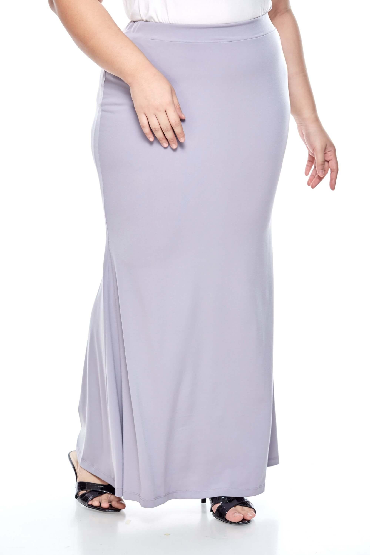Grey Long Skirt 3