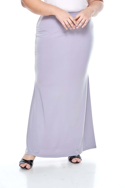 Grey Long Skirt
