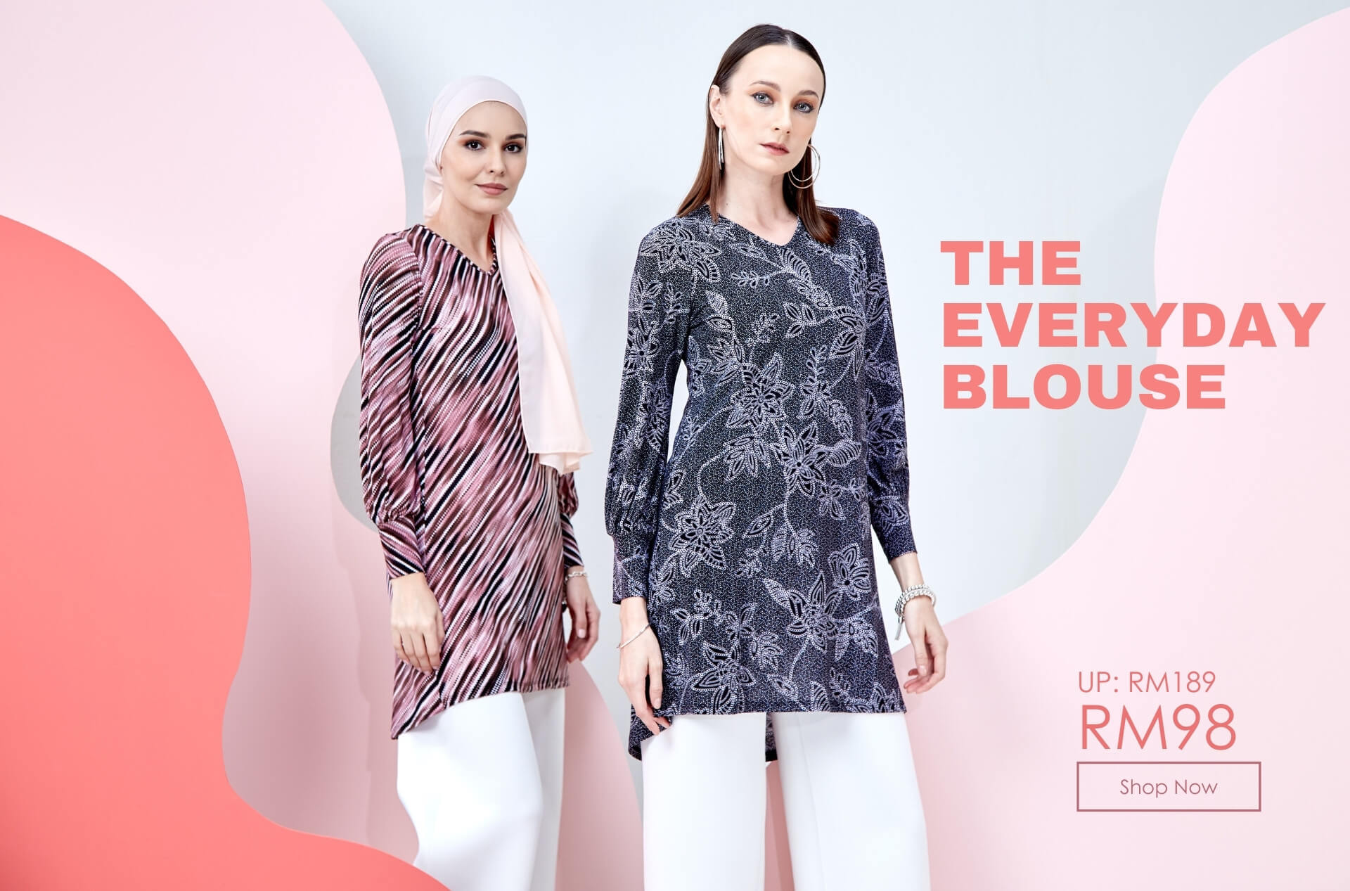 The Everyday Blouse banner Oct 2021